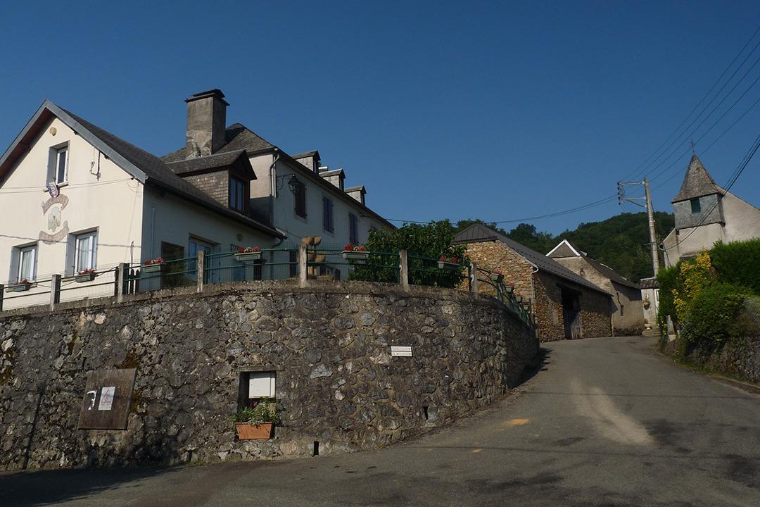 Centre du village Espèche