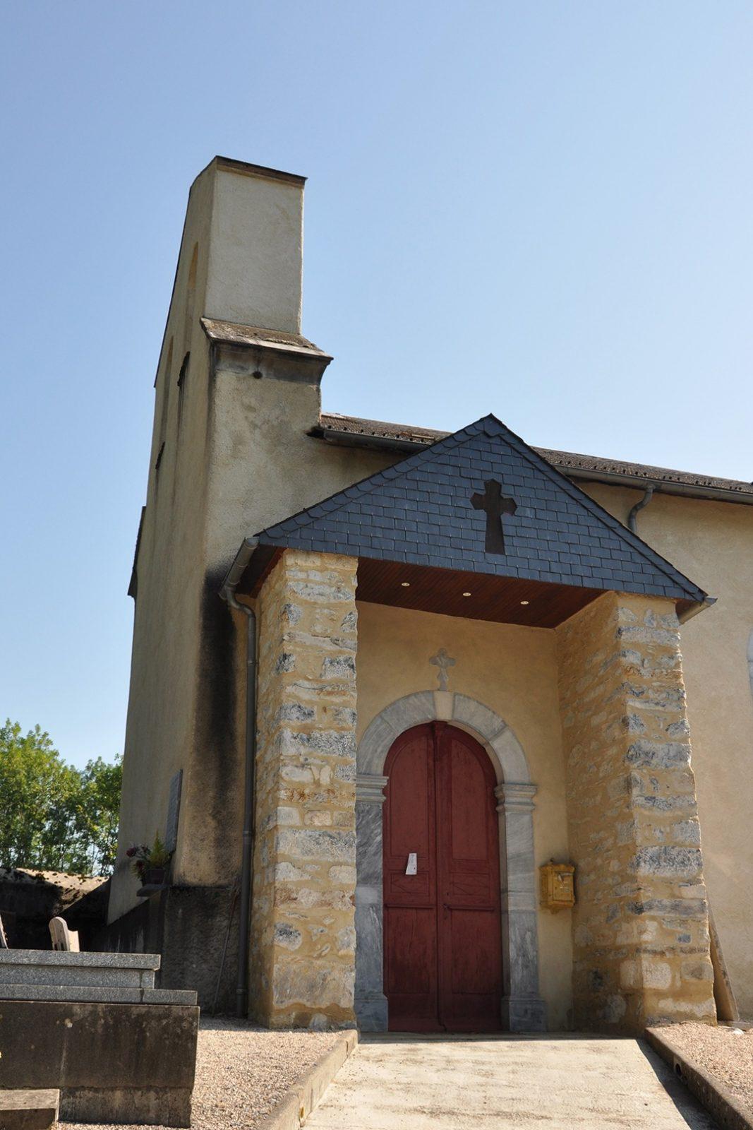 Vue latérale Eglise Fréchendets