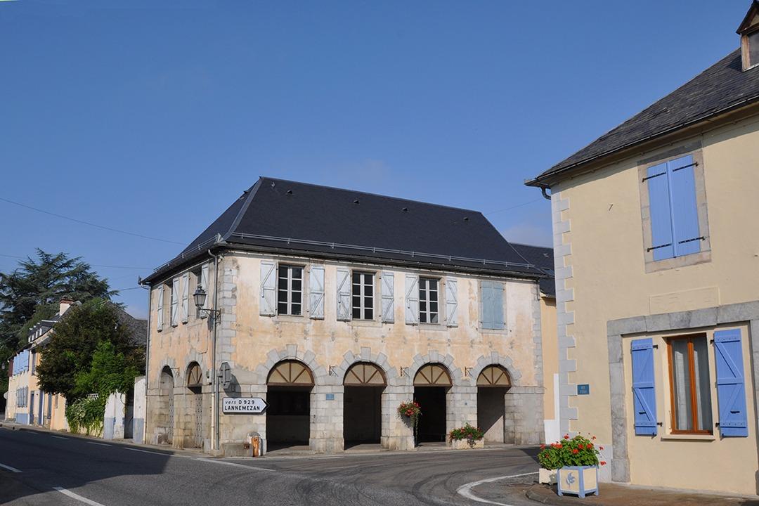 Centre du village La Barthe-de-Neste