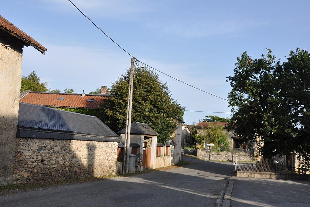 rue du village de Montoussé