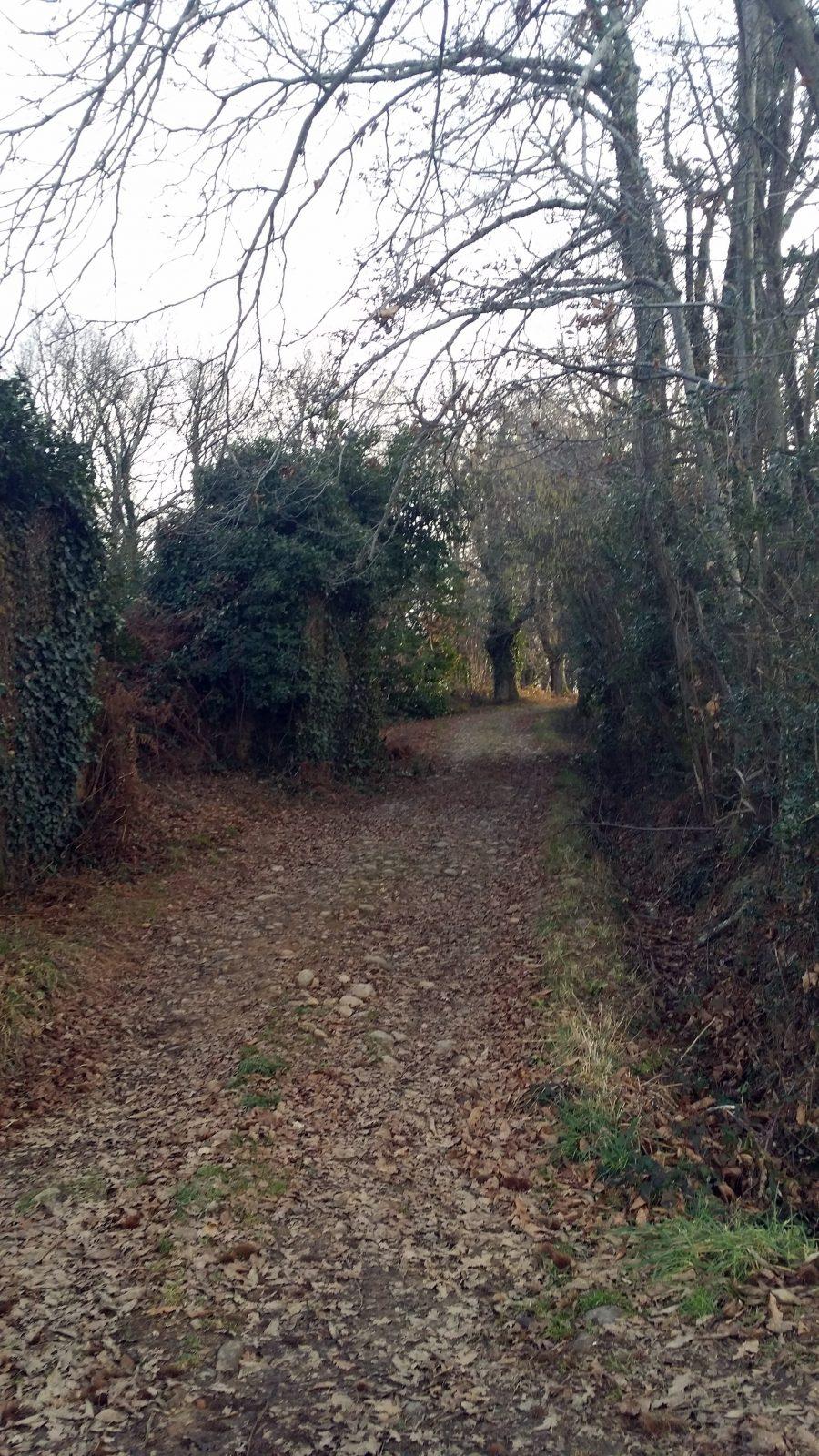 Sentier de randonnée Montastruc
