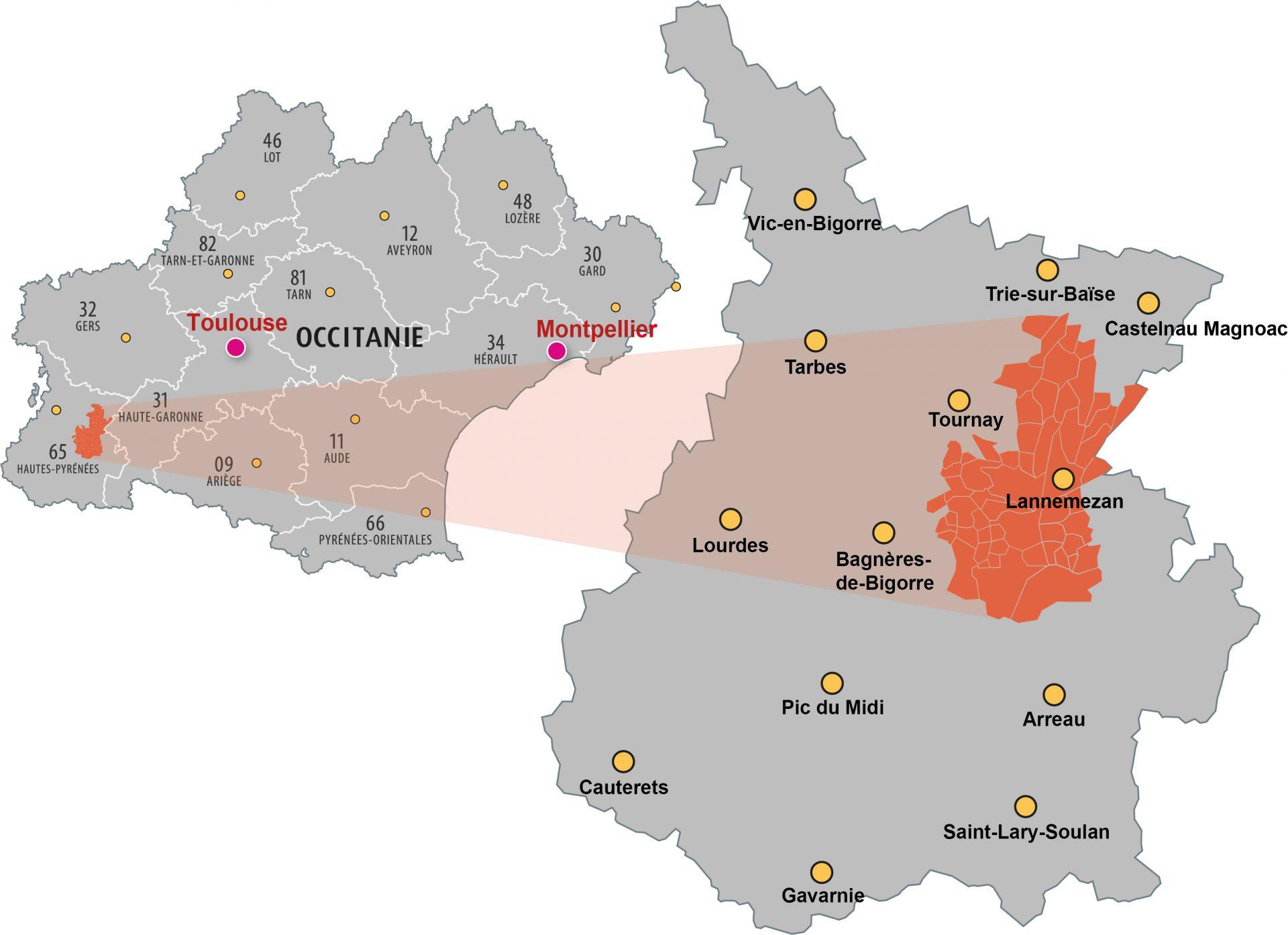 La CCPL en Occitanie