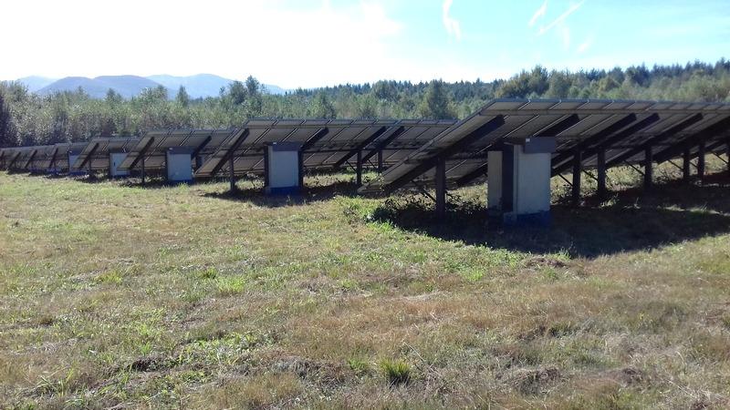 Parc photovoltaïque à Izaux