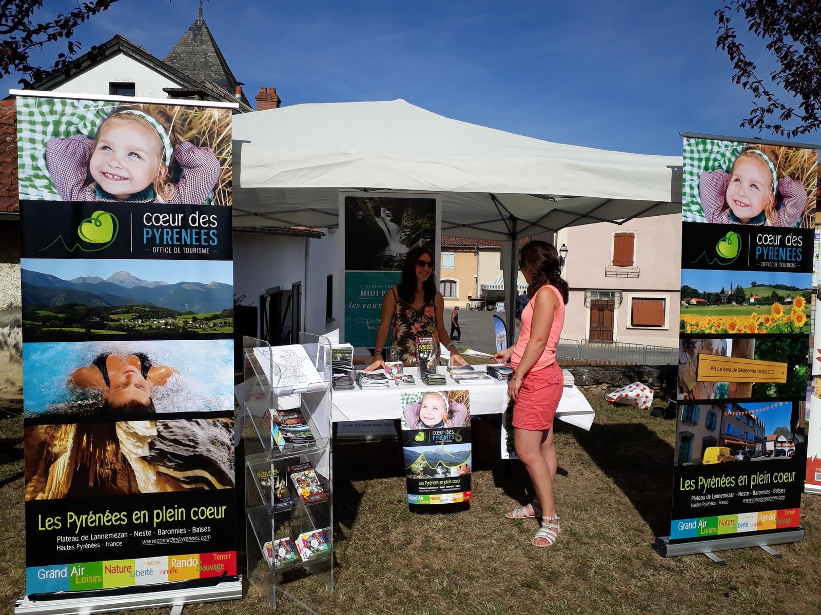 Stand Office de Tourisme Coeur des Pyrénées