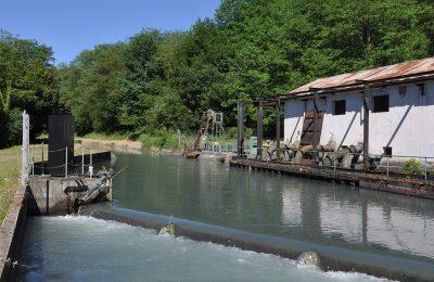 Canal de la Neste station de pompage La barthe de neste