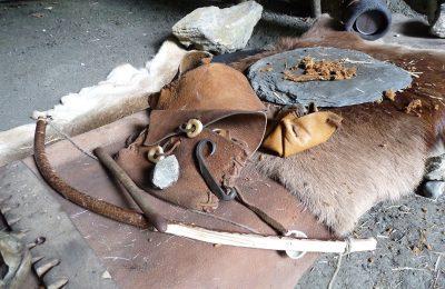 Atelier feu préhistorique