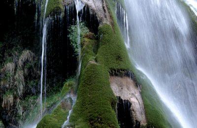 La cascade d'Esparros
