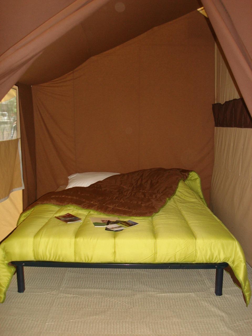 Intérieur prêt à camper