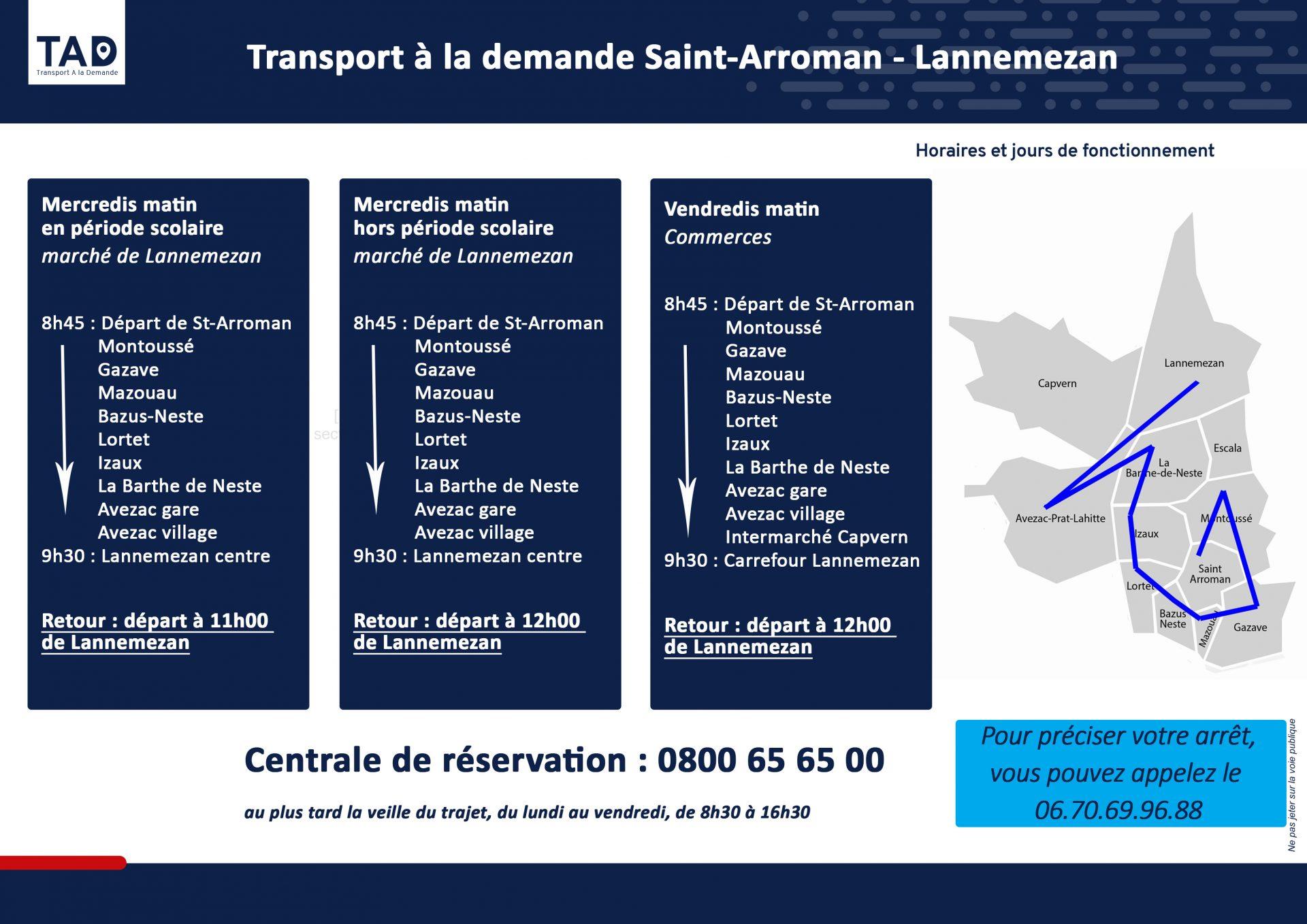 TAD Saint-Arroman